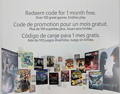 1 month Xbox One Game Pass Membership Digital Code - Fast Message Delivery