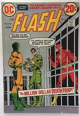 The Flash #219 DC (1973) Fine Condition