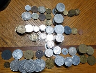 HUGE Romania Coin Lot, 350+ coins *45 Different types* leu lei bani