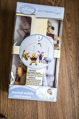Disney Mobile Winnie the Pooh Nursery Mobile, New