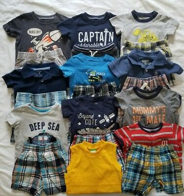 Boys 12 months Spring and Summer clothing outfits clothes lot