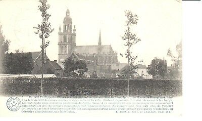 carte postale - Halle - CPA - Hal - Panorama