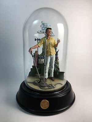 Franklin Mint BOB HOPE Thanks for the Memory MUSICAL DOMED SCULPTURE