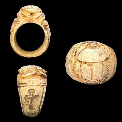 Very Rare Ancient Egyptian Ring 300 Bc (4)