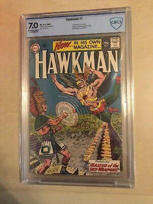 Hawkman 1 !! Cbcs 7.0 !! Classic S.a. !! Great Book !!
