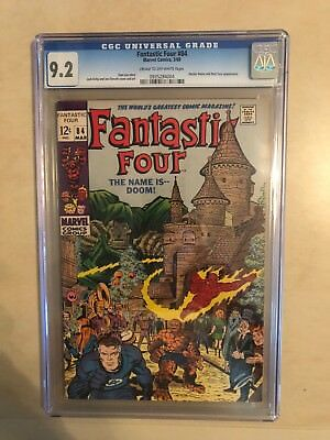 Fantastic Four 84 !! Cgc 9.2 !! Classic S.a. !! Awesome Book !! White Pages !