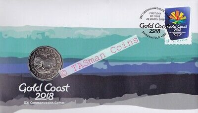 PNC Australia 2018 Gold Coast XXI Commonwealth Games RAM 50c Coin