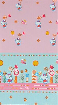 TENDA  HELLO KITTY 140X290cm BLUE/PINK
