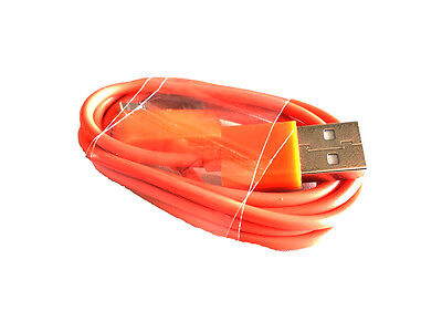 USB Datensync Kabel High Speed Datenkabel für Apple Geräte orange