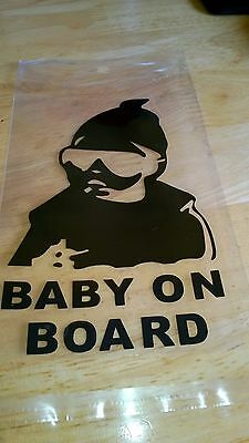 Baby on Board Window Car Sticker  Vinyl Decal NEW LOWER PRICE