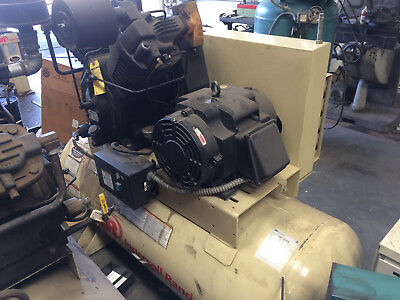 Ingersoll Rand 15hp Air Compressor Refurbished 120 gallon 230/460V 3phase 7100