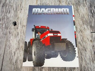 Vintage International Harvester 7140 Magnum Tractor Brochure Nr!