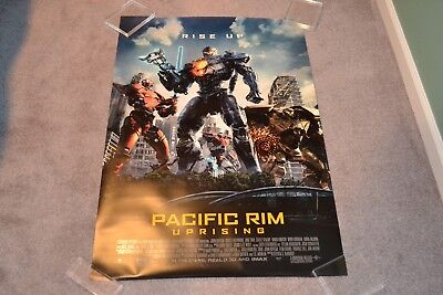 Pacific Rim: Uprising original double sided movie poster 27 x 40