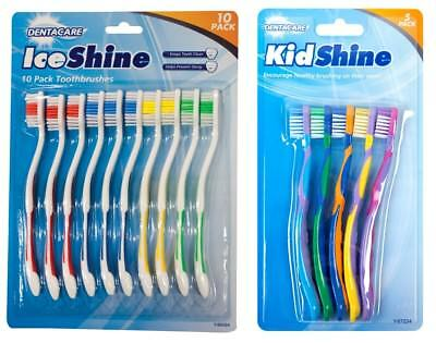 Multi Pack Toothbrushes Oral Dental Care Clean Hygiene Great Value Home Travel