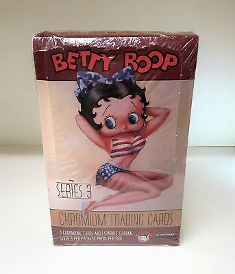 Betty Boop Series 3 Chromium - Sealed Trading Card Hobby Box - Krome 1997