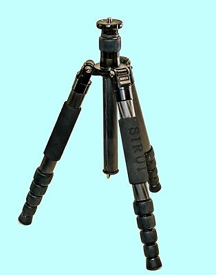 "SIRUI T-2205X Carbon Fiber Travel Tripod 49"" Mint Condition"