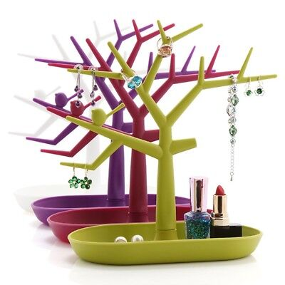 Trees Necklace Storage Stand Shelf Jewelry Display Holder Organizer