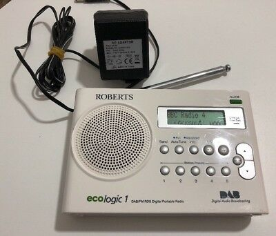 roberts ecologic 1 dab fm rds portable radio please read the rh picclick co uk Ecologic Insect Spray Ecologic Clothes