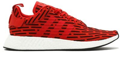 official photos 92cbd d9243 New Adidas NMD R2 SIZE 10 PK Nomad Primeknit Black Red r1 xr1 boost FREE  SHIP