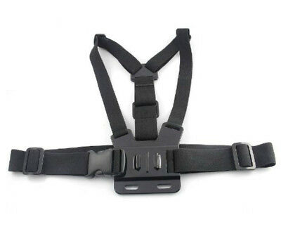 Adjustable Elastic Body Chest Strap Mount Harness for GoPro Hero 2 3 3+ 4 Camera