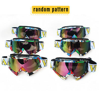 Youth Adult Motorcycle MX Goggles Glasses Dirt Bike Racing Off Road Motocross