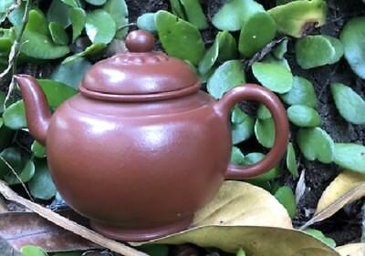 OLD Chinese Yixing zisha handmade teapot signed on the bottom 150 cc