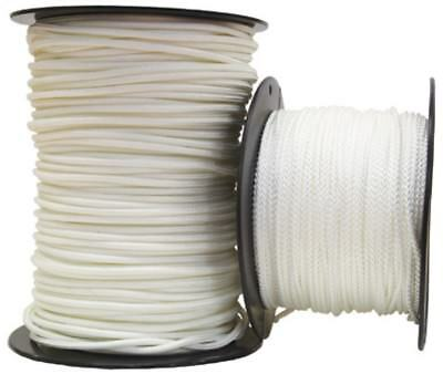 100m White Polyester Cord Rope Yacht Sailing 2mm 2.5mm 3mm
