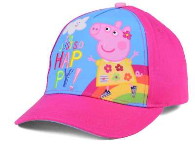 Peppa Pig Girls Baseball Cap Adjustable Hat Pink Kids Youth Toddler Children Toy
