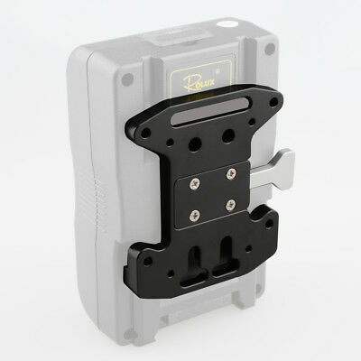 CAMVATE V-Lock Quick Release Plate mounted on V-mount Battery Grip AU Stock