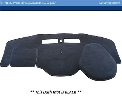Dash Mat Moulded Black For Holden Commodore VF Ute 05/13 - SV6 SS SSV Dashmat
