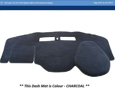 Dash Mat Moulded Charcoal For Holden Commodore VF 05/13 SV SS SSV Evoke Dashmat