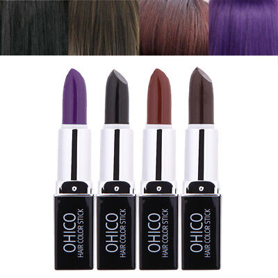 Temporary Hair Color Stick Dye Lipstick Chalk Crayons DIY Disposable Hair Care