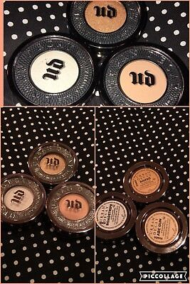 URBAN DECAY eyeshadows Lot Of 3 Neutrals Brand New Crease/transition Highlight