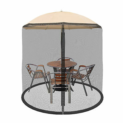 Outdoor Mosquito Net Patio Umbrella Bug Screen Gazebo Canopy Garden Pest  Control