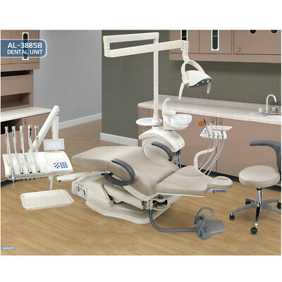 Dental Unit Chair Computer Controlled FDA CE Approved AL-388SB Model Wd