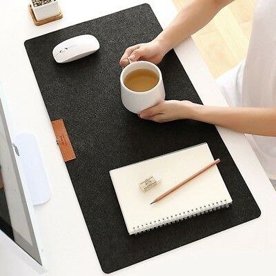 1pc Large Anti-Slip Mouse Pad  Table Computer Desk Keyboard Game Mouse Mat Black