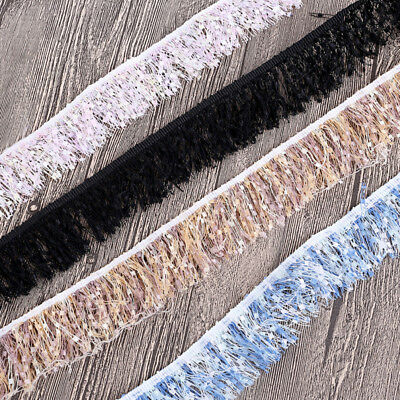 2 Yards Fringe Tassel Trims Lace Edging DIY Clothes Accessories For Sewing