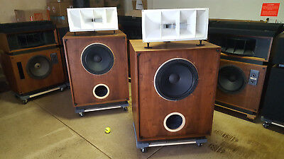 ALTEC LANSING MODEL 17 Speakers 620 Cabinets with 604-8G Drivers