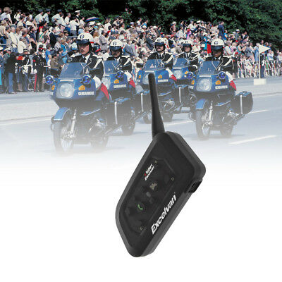 1200m BT Motorrad Helm Sprechanlage Gegensprechanlage Intercom Headset 6 Riders