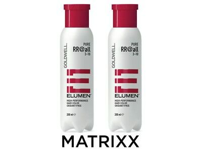 Goldwell Elumen RR@all Pure   2x 200ml   Set Haarfarbe