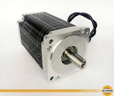 ACT MOTOR GmbH 1PC Nema34 Stepper Motor 34HS5460D14L34J5-3-M5 150mm 12Nm 6A