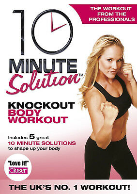 10 MINUTE SOLUTION KNOCKOUT BODY WORKOUT DVD Exercise Fitness UK Rel New R2