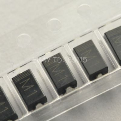 500PCS 1N4001 IN4001 M1 1A/50V SMA DO-214AC SMD Rectifier Diode NEW