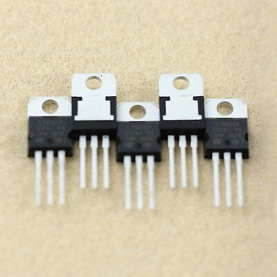 10pcs L7805 LM7805 7805 Voltage Regulator +5V 1.5A NEW