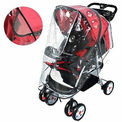 Universal Pushchair Stroller Buggy Rain Cover Fit Many Models