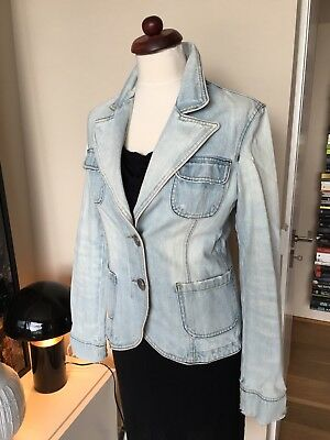 Vintage Jeansjacke light blue M