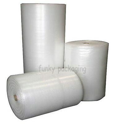 SMALL BUBBLE WRAP ROLLS 300mm 500mm 750mm x 100m  LONG PACKAGING CUSHIONING NEW