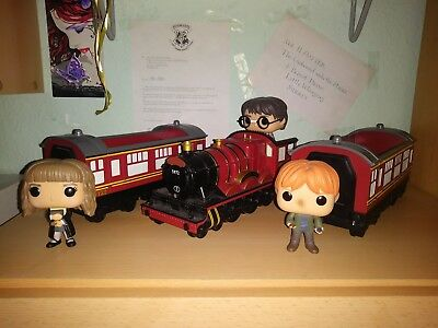Harry Potter Pop Funko Hogwarts Express Zug Harry/Hermine und Ron
