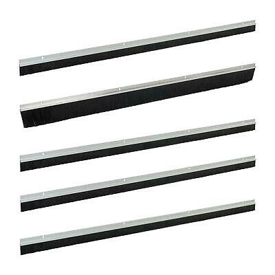 Garage Door Draught Excluder Bottom Brush Seal Strip Excluders