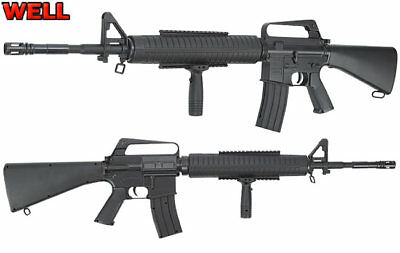 Well M16 A2 Springer Softair 6mm BB Airsoft